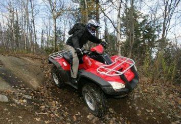 """Honda"", ATV, off-road – co może być ładniejszy niż na sercu?"