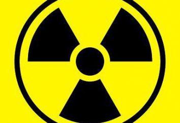 les effets des rayonnements sur l'homme et des animaux