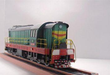 Manewrowych lokomotyw spalinowych: specyfikacji i zdjęć