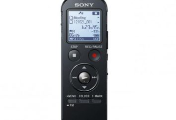 Dictáfono Sony ICD PX333: descripción, la instrucción de operación, las respuestas