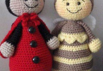 Lekcje robótki szydełkowe zabawki dzianiny: