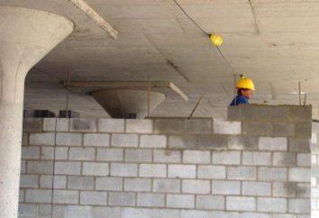 Bloki murowe z betonu lekkiego kruszywowego z rękami: instrukcje krok po kroku, to rozwiązanie technologia murze