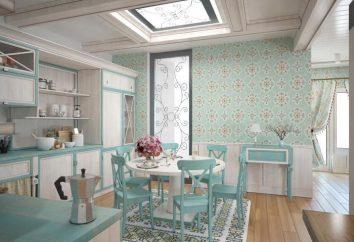 Kompaktowy apartament w stylu Prowansji: Projektowanie wnętrz