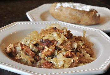 repolho receita com batatas, do clássico ao improv