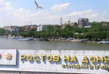 regioni, il clima e l'ambiente Don Rostov-on-
