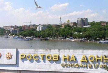 Rostov-on-Don regiões, o clima eo meio ambiente