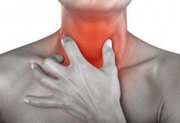 Dlaczego ból gardła: choroby psychosomatyczne