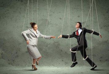 ¿Cuál es la manipulación? influencia manipuladora