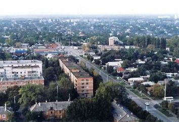 Sites et histoire Tikhoretsk