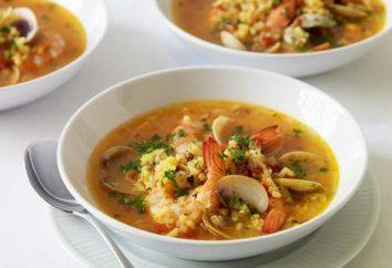 Minestra Ricetta frutti di mare: molto disponibile, deliziosa e soddisfacente