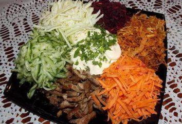 salade « Tatar »: recette avec une photo
