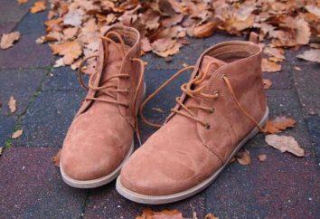 Cosa e come pulire le scarpe nubuck?