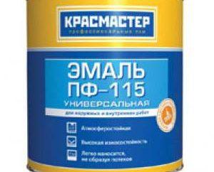 Peinture PF 115: spécifications, prix, composition, fabricant