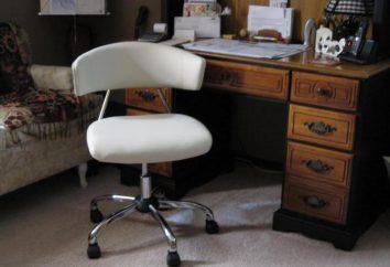 sedia del computer per la casa: le caratteristiche del progetto e le raccomandazioni sulla scelta
