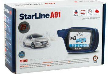 Allarme Starline A91 Dialog: recensioni, descrizione