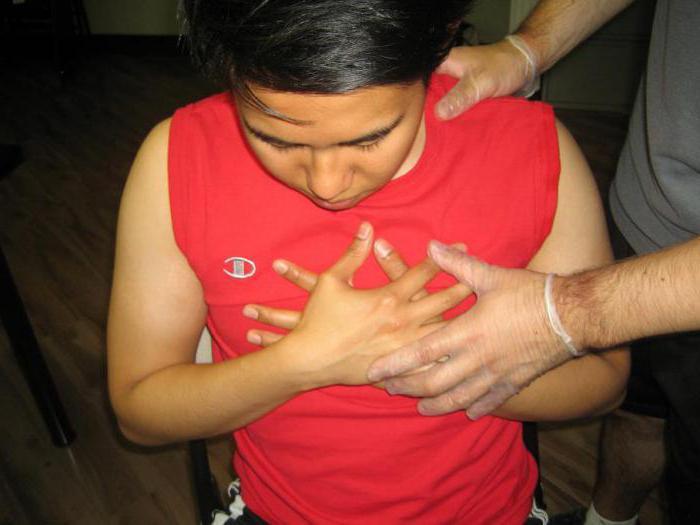 rippe in lunge symptome