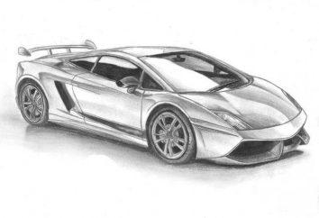 """Lekcja dla początkujących: jak narysować """"Lamborghini"""""""