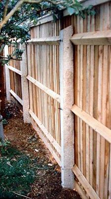 Wir Produzieren Betonieren Saulen Zaun