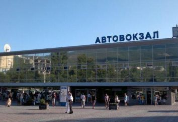 """Stazione degli autobus """"Yalta"""" – la porta di accesso alla città della Crimea di sole"""
