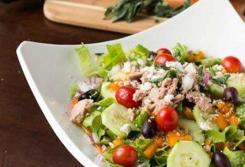 przepis przygotowanie i kalorii sałatka grecka