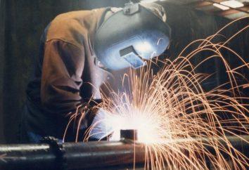 Trabajos de soldadura – comprable de crear conexiones permanentes