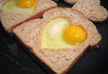 Ein köstliches Frühstück in Eile. Frühstück jeden Tag: Rezepte