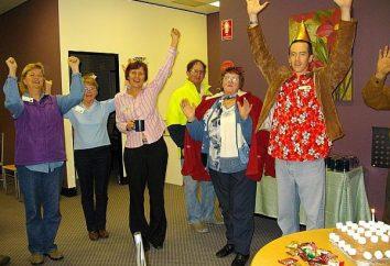 Konkursy rocznicy od 55 lat kobiety. Urodziny Scenariusz