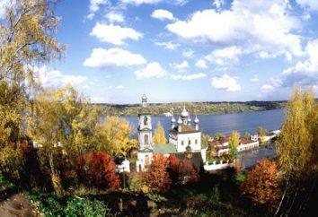 ville Ples dans la région d'Ivanovo. Histoire et sites