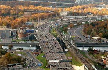 Strada a pedaggio Mosca – San Pietroburgo. percorso M11