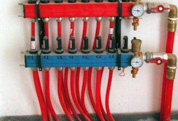 tubi XLPE nel sistema di acqua e riscaldamento