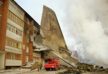 katastrofy samolotu w Irkucku: przyczyny wydarzeń dotknięte