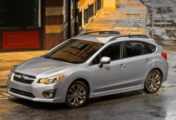 Subaru Impreza hatchback: direcção além do elogio