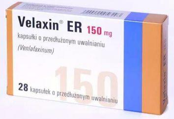 """Antidepressivo """"Velaksin"""": testimonianze di pazienti, istruzioni per l'uso, analoghi"""