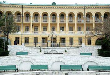 O complexo Bocharov Ruchey é a residência oficial do presidente