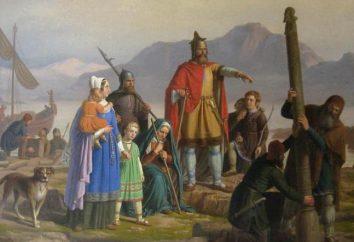 La población de Islandia de la historia, el número, foto