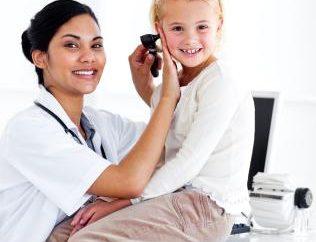 otites internes et externes chez les enfants, le traitement