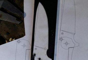 Noże flowlines z ich rąk. Automatyczny nóż sprężynowy: Cechy i opinie
