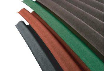 Ondulin: rozmiaru, właściwości materiału arkuszowego i stosowania