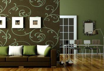 Opzioni personalizzate Wallpapering in stanze diverse