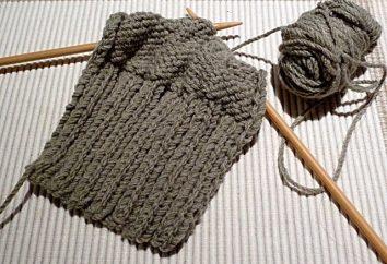 Jak nauczyć się robić na drutach: dla początkujących prostych instrukcji