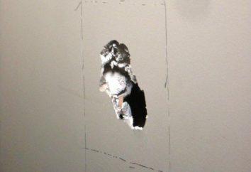 Come di rattoppare il buco nel muro a secco: materiali, strumenti, consigli di riparazione