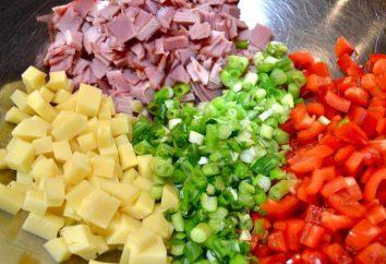 Como a cozinhar uma salada simples?