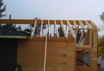 Krokwie dla dachu: formularze, rodzaje, materiały