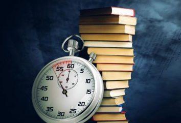 la velocidad de lectura para adultos y niños. la lectura y la memoria de desarrollo de velocidad: métodos y ejercicios