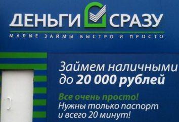 """""""Pieniądze natychmiast"""": termin mikropożyczek w całej Rosji: opinie. """"Pieniądze raz"""": w jaki sposób ubiegać się o pożyczkę"""