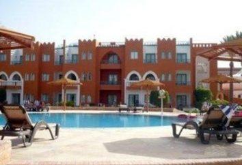 """hotel """"Sunrise Garden Beach"""". Hurghada. descrizione"""