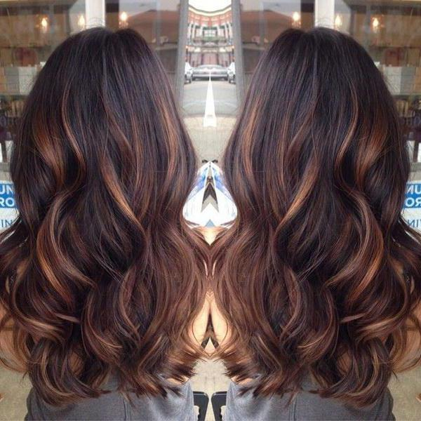 Fotos de pelo en dos colores