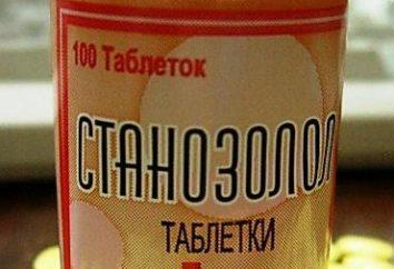 """Jak przyjmować tabletki """"stanozolol"""". Przebieg leczenia """"Stanazolol"""""""