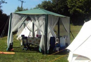 Namiot dać – twoje zbawienie gorący letni dzień
