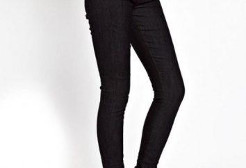 Como tomar em calças na cintura. Como dar nova vida a calça jeans queimado
